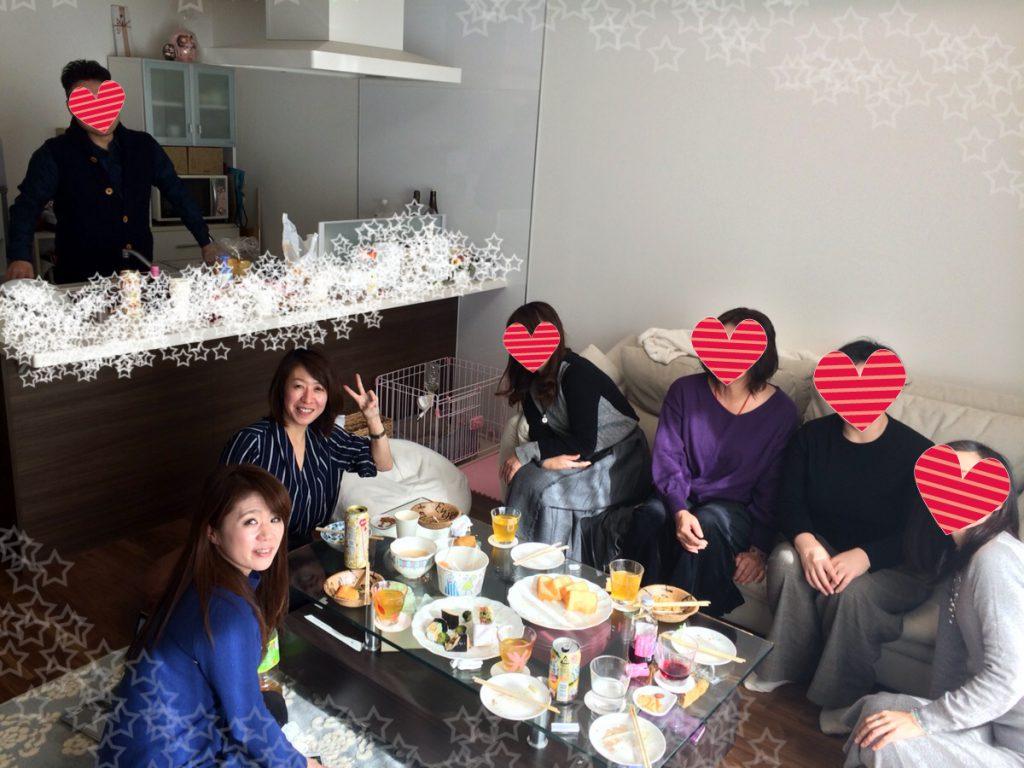 20181209,女子会,パーティ,ランチ,アラフォー,40代,30代,結婚,婚活